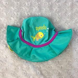 Speedo Baby Girl Sun Hat Beach Pool S/M